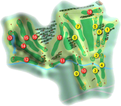 Ardee Golf Course Layout