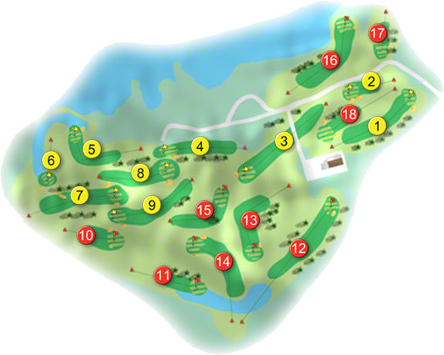 Athlone Golf Course Layout