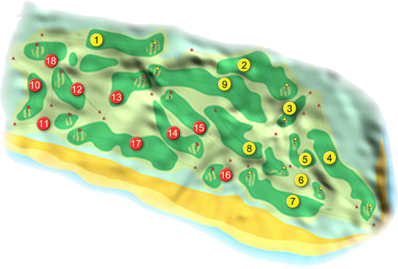 Ballybunion Golf Course Layout