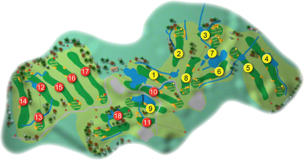 Beaufort Golf Course Layout