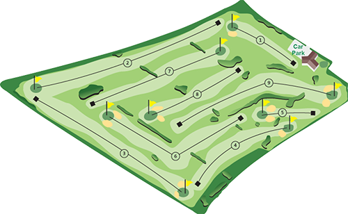 Bentra Municipal  Golf Course Layout