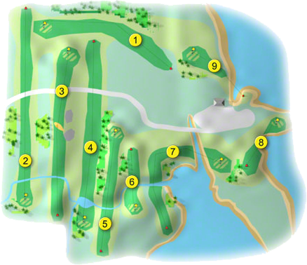 Berehaven Golf Course Layout