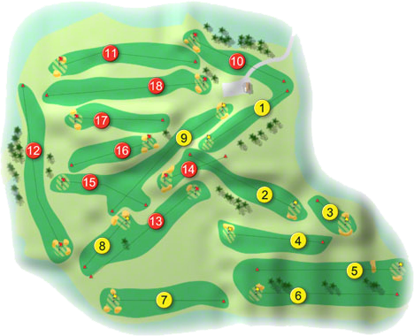 Birr Golf Course Layout