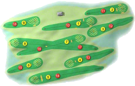 Buncrana Golf Course Layout