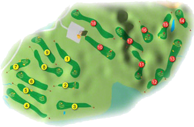 Carne Golf Links Golf Course Layout