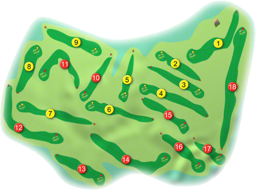 Carrick-on-Shannon Golf Course Layout