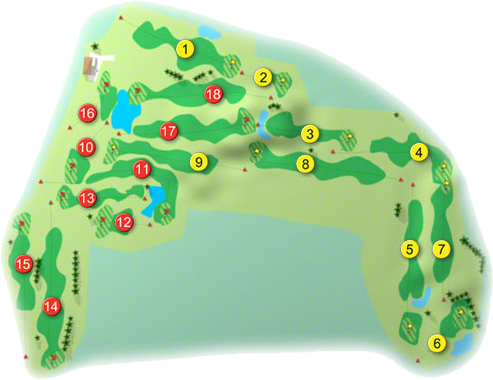 Castlebar Golf Course Layout