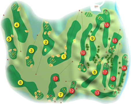 Castlecomer Golf Course Layout