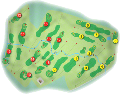 Ceann Sibeal/Dingle Golf Course Layout