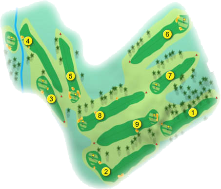 City of Belfast Golf Course Layout
