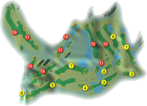 City West Golf Course Layout