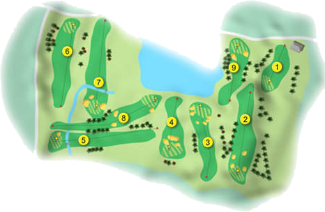 Cliftonville Golf Course Layout