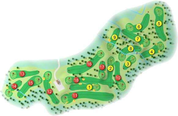 Clonmel Golf Course Layout