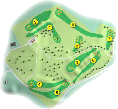 Cloughaneely Golf Course Layout