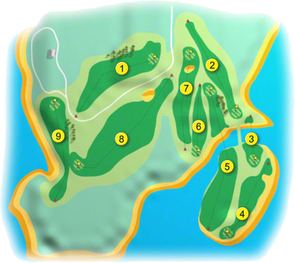Connemara Isles Golf Course Layout