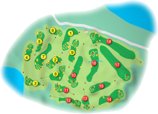 Connemara Golf Course Layout