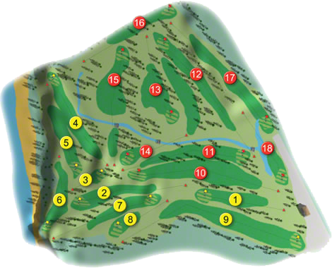 Courtown Golf Course Layout