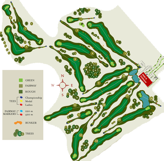 Cregmore Park Golf Course Layout