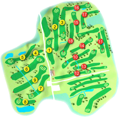 Donabate Golf Course Layout