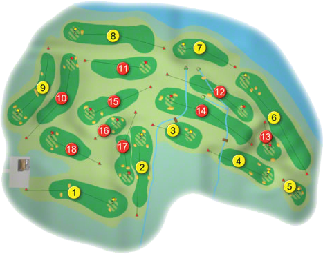 Donegal/Murvagh Golf Course Layout