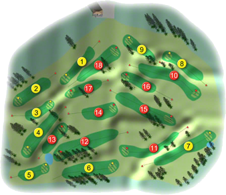 Dundalk Golf Course Layout