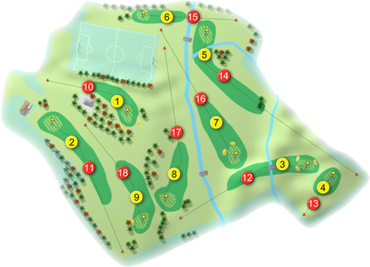 Dunmore Demesne Golf Course Layout