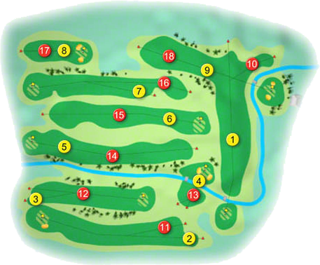 Fintona Golf Course Layout