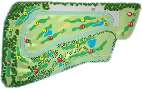 Gowran Park Golf Course Layout
