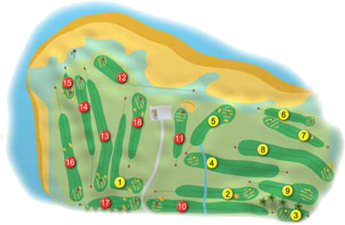 Greencastle Golf Course Layout
