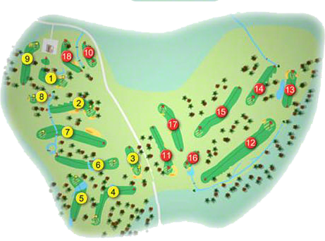 Highfield Golf Course Layout
