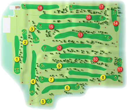 Kilcock Golf Course Layout