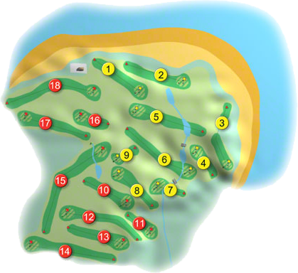 Kilkee Golf Course Layout