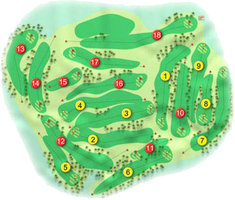 Kilkeel Golf Course Layout