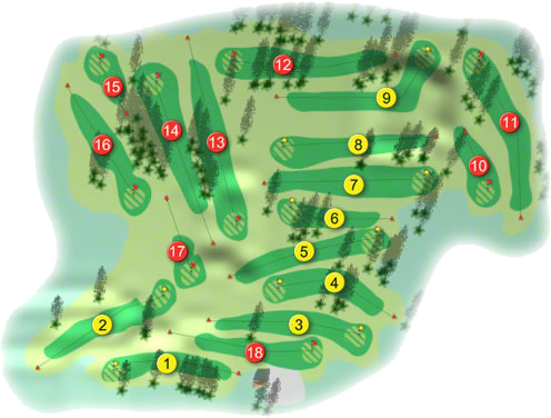 Kilkenny Golf Course Layout