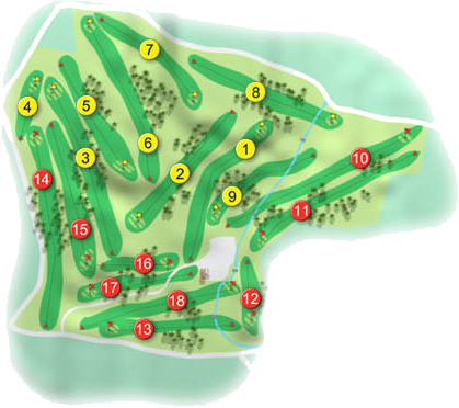 Knock Golf Course Layout