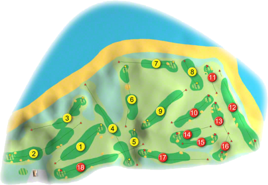 Lahinch Golf Course Layout