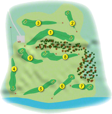 Listowel Golf Course Layout