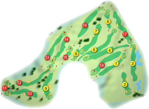 Nenagh Golf Course Layout