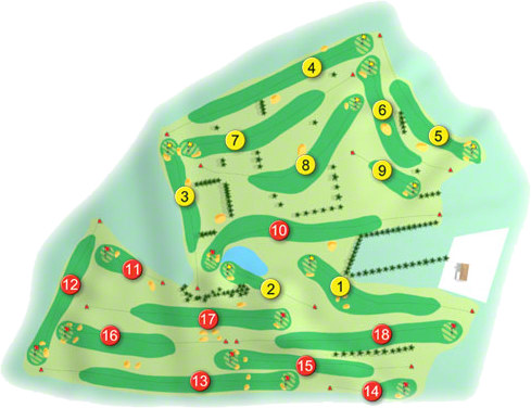 New Ross Golf Course Layout