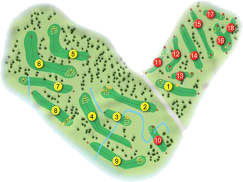 Omagh Golf Course Layout