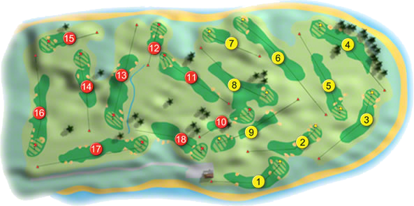 Portmarnock Golf Course Layout