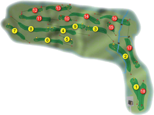 Portsalon Golf Course Layout