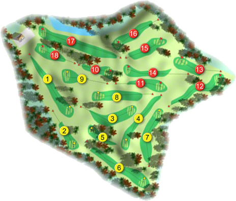 Portumna Golf Course Layout