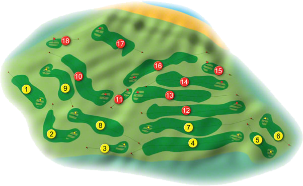 Rathmore Golf Course Layout