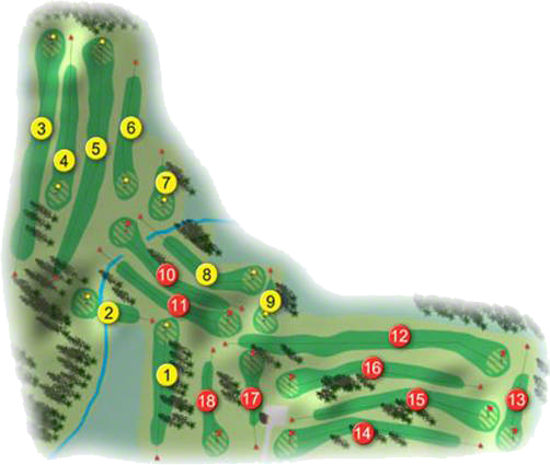 Silloge Park Golf Course Layout