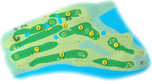 Sutton Golf Course Layout