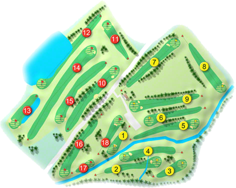 Swords Golf Course Layout
