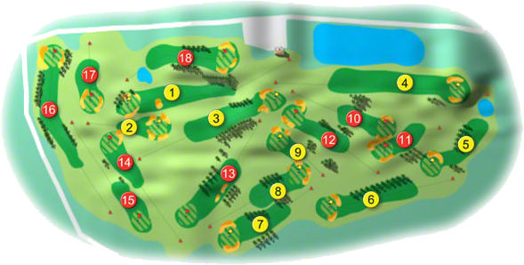 The Heath Golf Course Layout
