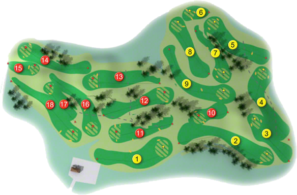 Tramore Golf Course Layout