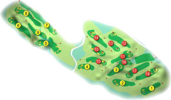 Youghal Golf Course Layout